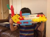 ブロック作品 - 子ども3人(予定)  医療職パパのブログ