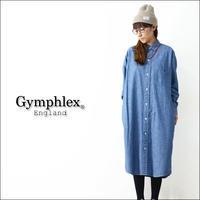 Gymphlex [ジムフレックス] CHAMBRAY LS SHIRTS [J-1176COD] シャンブレーロングシャツ/シャツワンピース LADY'S - refalt   ...   kamp temps