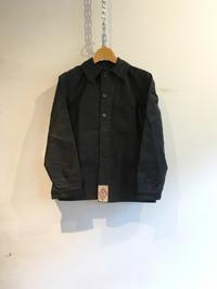 40's〜50's Dead Stock ブラックモールスキン カバーオール - DIGUPPER BLOG