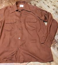 10月9日(月)入荷! 50s Rayonオープンカラー(開襟 )shirts! - ショウザンビル mecca BLOG!!