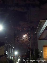 月と雲に見とれる - 丁寧な生活をゆっくりと2