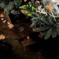 フレッシュクリスマスリースレッスン2017 - [花灯-hanabi-] 栃木県宇都宮市の花屋です