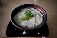 ゆば蕎麦 - ホンテ島 日記