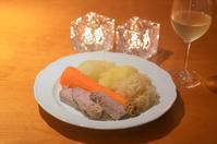 豚肉のザウアークラウト煮込み/代官山散歩 - まほろば食日記