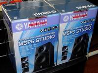 YAMAHA モニタースピーカー MSP5 STUDIO - 青いそらの下で・・・