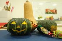 10/8 子供アート教室  ~ハロウィンかぼちゃで、怪しく楽しく♪~ - miwa-watercolor-garden