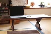 寺子屋机を少し高く... - キラキラのある日々