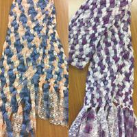 ゆび織りが人気です!産経学園大阪校 - 手染めと糸のワークショップ