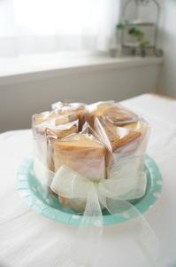 オーダーケーキ - launa パンとお菓子と日々のこと