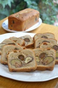 栗のテリーヌ - 調布の小さな手作りお菓子教室 アトリエタルトタタン
