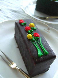 南麻布ルコント広尾本店の綺麗なケーキ - K's Sweet Kitchen