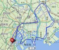 10/8(日) 東京 Vol3(品川・お台場・江戸川・柴又・日本橋) 87km - 山to バイクto Qoo の楽園