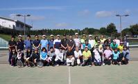 鎌ケ谷テニスクラブとの親善試合 - 東金、折々の風景