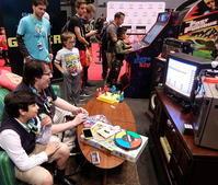NYコミコン会場にもレトロ・ゲーム人気の風 - ニューヨークの遊び方