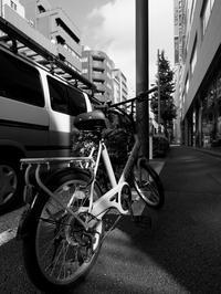 街と自転車 - 節操のない写真館