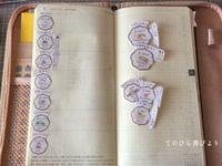 ほぼ日手帳weeksの週間ページ試用(レフト式→バーチカル風など) - てのひら書びより