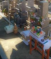 納骨式のお手伝い - 神戸の墓石店 四国石材のブログ