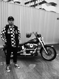 井上 敏幸 & Harley-Davidson FLSTN(2017.09.17) - 君はバイクに乗るだろう