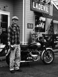 谷代 崇 & TRIUMPH T110(2017.09.18) - 君はバイクに乗るだろう