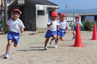 かけっこ(年中) - 慶応幼稚園ブログ【未来の子どもたちへ ~Dream Can Do!Reality Can Do!!~】