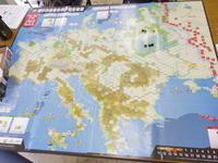 2017年度『秋の連続例会』の様子その➅ (Compass)Fall of the Third Reich (コンパス)フォール・オブ・ザ・サード・ライヒ 初日 - YSGA(横浜シミュレーションゲーム協会) 例会報告