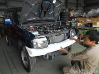 H24年式 ジムニー XG 8型 展示車両作製中('ω') - ★豊田市の車屋さん★ワイルドグース日記