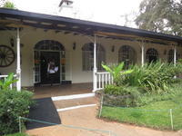 ナイロビの駐在員が使っていそうなカレン・ブリクセンコーヒーガーデンでランチです(ナイロビ) - せっかく行く海外旅行のために