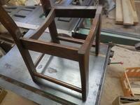 椅子の座面リメイク - 手作り家具工房の記録