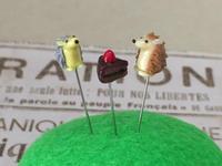 まち針_ハリーとケーキ - こまログ