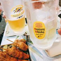 新横浜のDEEPサイド、立ち飲み串揚げ屋さんが楽しかった!:「串あげ 万福」 - あれも食べたい、これも食べたい!EX