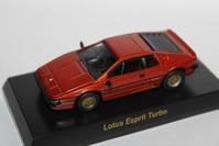 1/64 Kyosho British Car Lotus Esprit Turbo - 1/87 SCHUCO & 1/64 KYOSHO ミニカーコレクション byまさーる