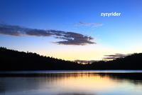 白駒池の朝景 - ジージーライダーの自然彩彩