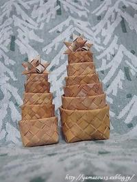 Ёлка(ヨールカ)を飾ってみる - ロシアから白樺細工