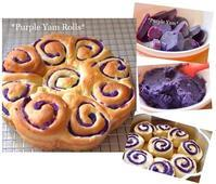 ★Purple Yam Rolls★ - Don't Worry! Be Happy!