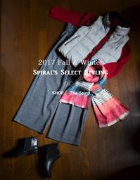 """2017 F/W Spiral's Select Styling...10/13fri"" - SHOP ◆ The Spiralという館~カフェとインポート雑貨のある次世代型セレクトショップ~"