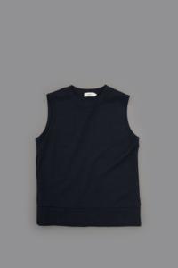 RINEN 1/24 Wool Milano Rib Vest - un.regard.moderne