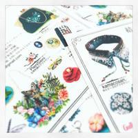 ちょっと気の早いお知らせです☆ - 『 紙とえんぴつ。』 kamacosan. 糸とビーズのアクセサリー