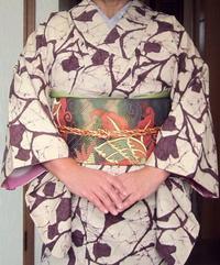 着物のお稽古'17/10/13 - 柴犬たぬ吉のお部屋