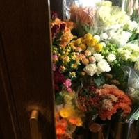 かわいい秋の花 - 花だより 海浜幕張駅 花屋 テーブルコサージュ・ラボ~フラワーショップ~