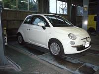 フィアット500ツインエアー車検整備デュアロジックオイル交換他 - 掛川・中央自動車