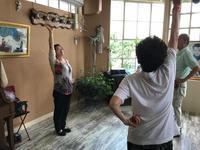 気功教室と珍しいお客様 - NPO法人オ〜マイダーリンの活動記録