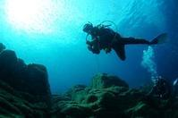 ありがとうP(Ⅰ)(diving)。 - 青い海と空を追いかけて。