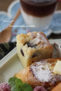 * 栗のケーキ* - ちょこちょこ*homemade Life