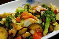 ■続・菜園直行【簡単5分!!カラフルで美味しい野菜炒め】 - 「料理と趣味の部屋」