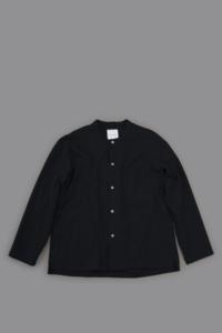 STILL BY HAND C/W Cardigan Shirt (Navy) - un.regard.moderne