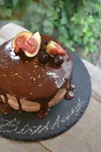 14歳の生チョコバースデーケーキ - 調布の小さな手作りお菓子・パン教室 アトリエタルトタタン