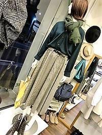 チェックのスカート・・・・☆ - 今日のdureine