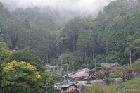 雨中③ 奈良山添村(三重県に限りなく近い) - ぶらり記録(写真) 奈良・大阪・・・