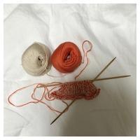 試作中:優しさ重視のコットン - よなよな編み物