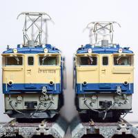KATO 1-306 EF65 1000番台後期形DCC化しました - 鉄道模型の小部屋